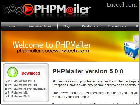 PHPMailer发送邮件
